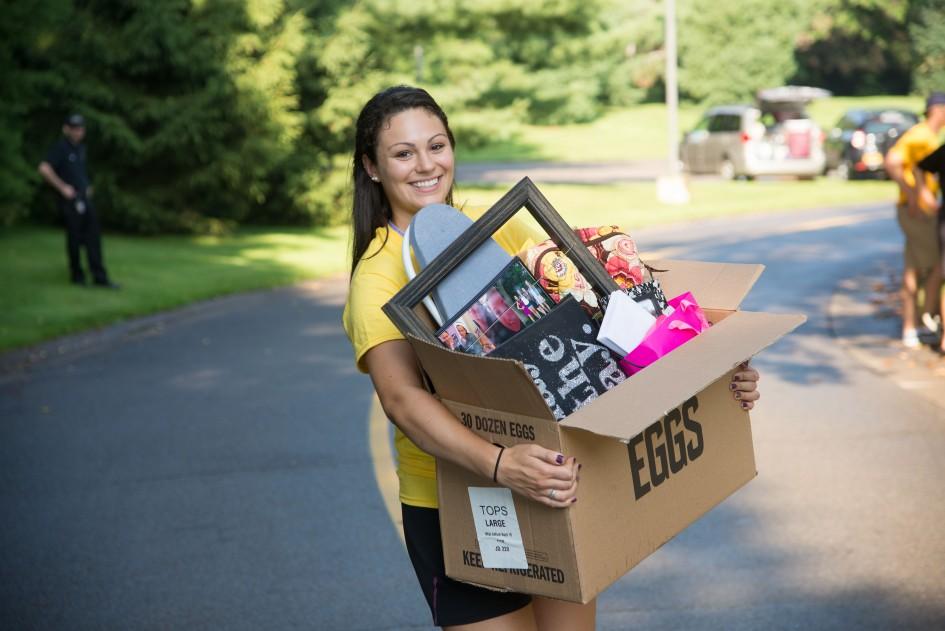 Orientation 2014: Move In and Convocation - Nazareth College, Rochester NY